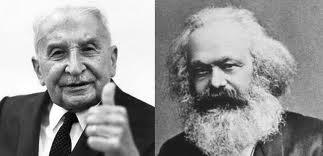Resultado de imagen para Marx y austriacos