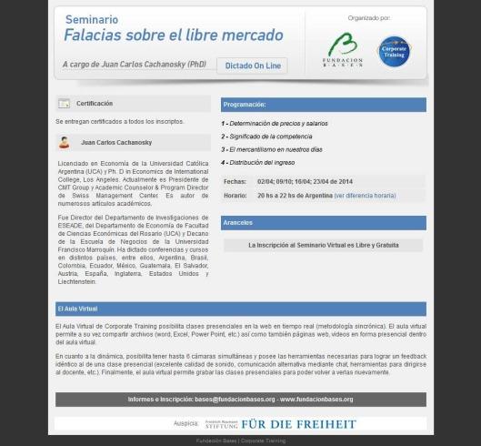 F. Bases - 2014 - Programa Anual JCC