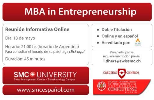 Flyer - MBA entrepreneurhsip