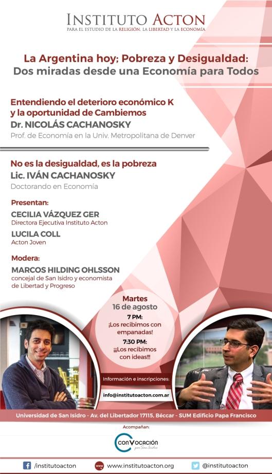 Flyer conferencia Cachanosky